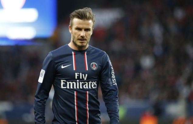 Paris Saint-Germain's English midfielder